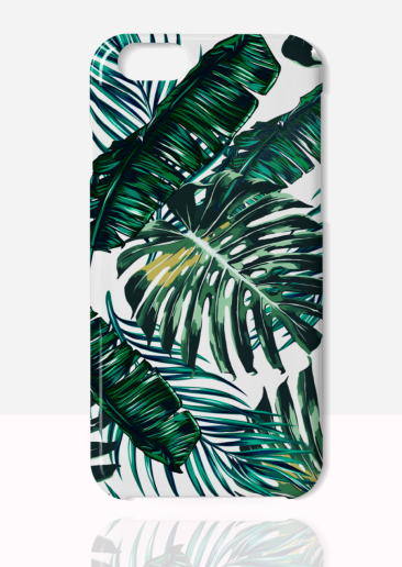 Coconut Lane iPhone 7 plus case