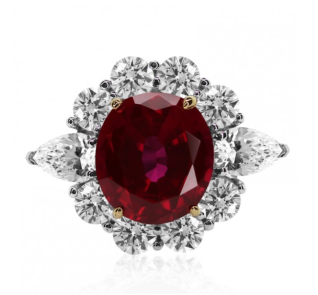Carat London Ruby Ring