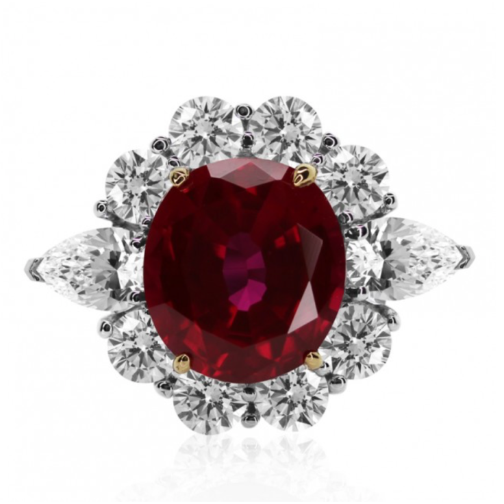 Carat London Ruby Ring